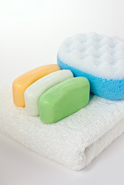 Synthetic soap colorants can be used to great effect. Photo courtesy of Flickr user Horia Varlan