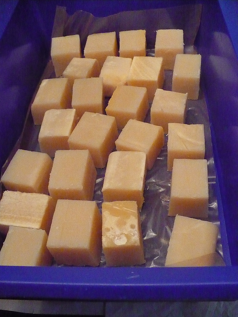Lye is an essential ingredient in soap making but it can be quite dangerous. Photo courtesy of Flickr user maoquai